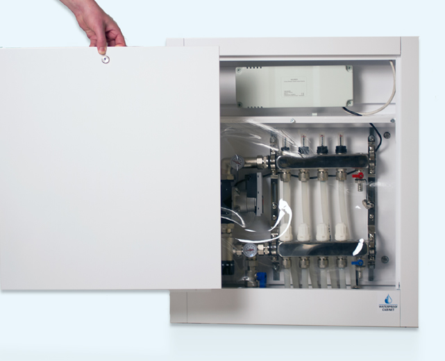 Waterproof cabinet