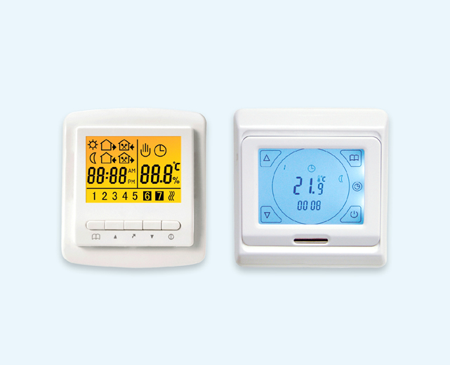Wired thermostat